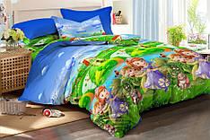 Детский комплект постельного белья 150*220 хлопок (15778) TM KRISPOL Украина