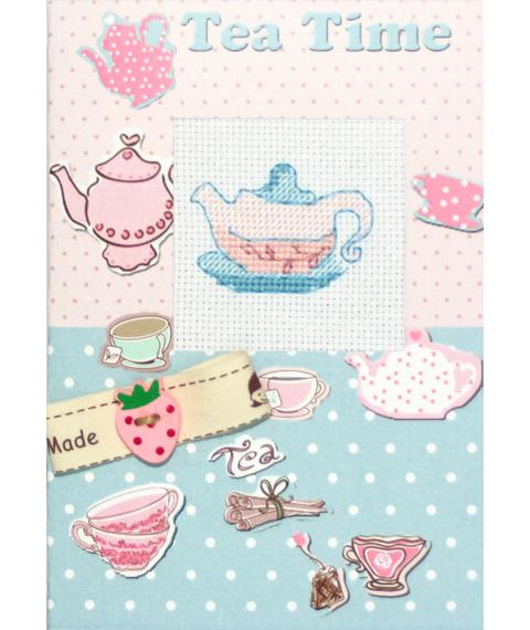 """Luca-S набор для изготовления открытки """"Время для чая"""" (S)P-10"""