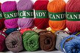 Пряжа Vita Candy 2508 тёмный бордо, фото 2
