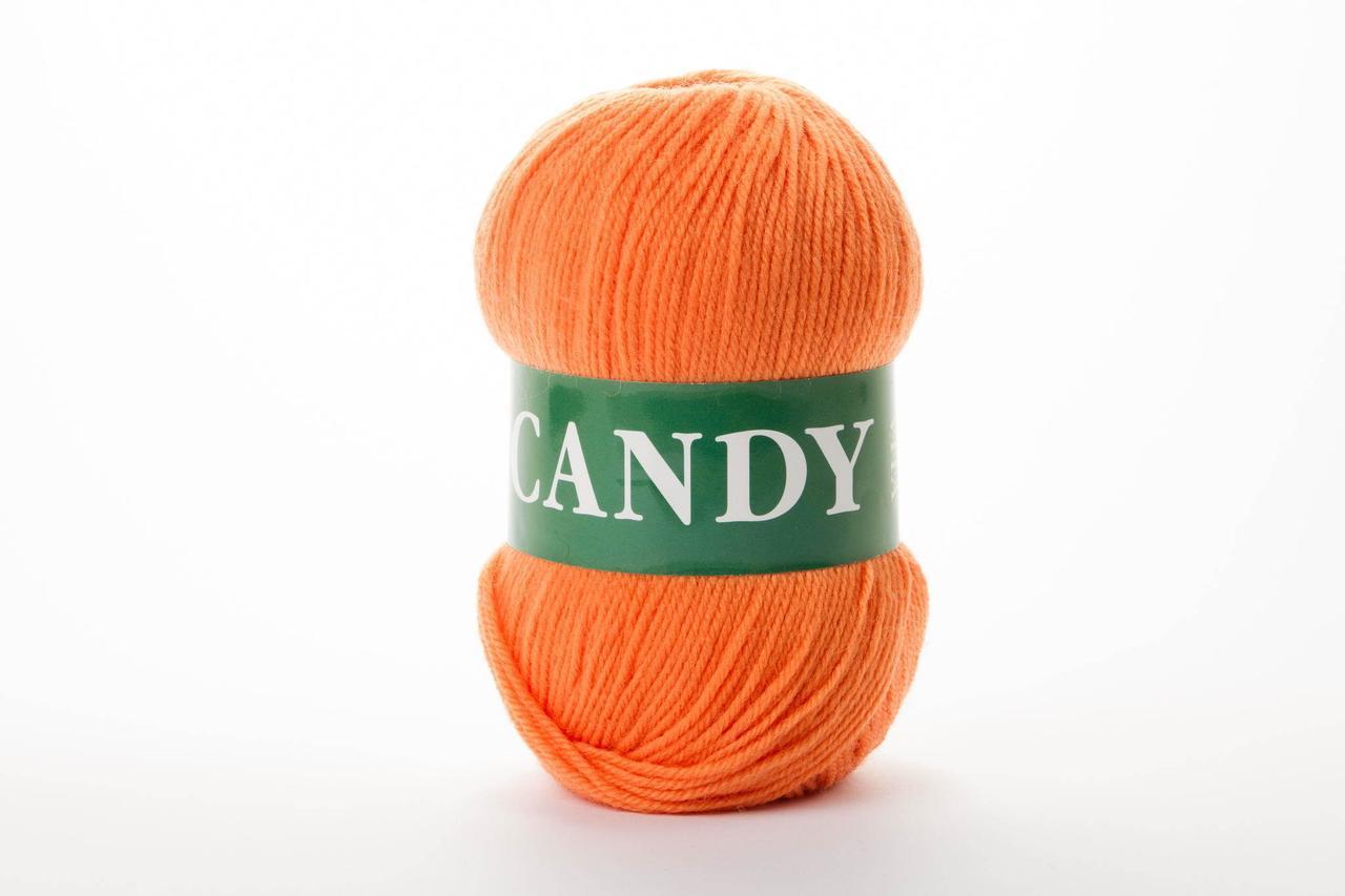Пряжа вовняна Vita Candy, Color No.2519 оранж