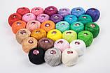 Пряжа хлопковая Vita Cotton IRIS, Color No.2116 темный розово-сиреневый, фото 2