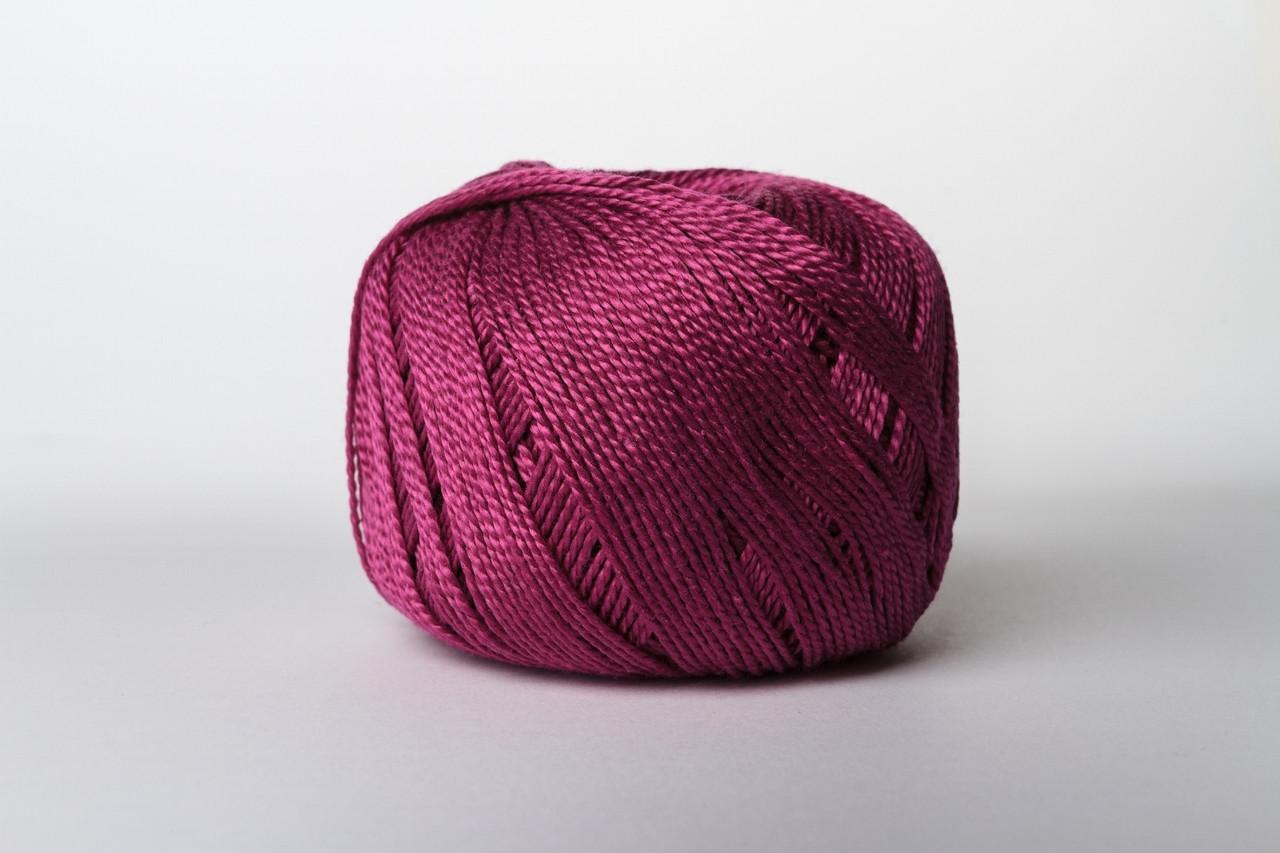 Пряжа Vita Cotton IRIS 2117 спелая черешня