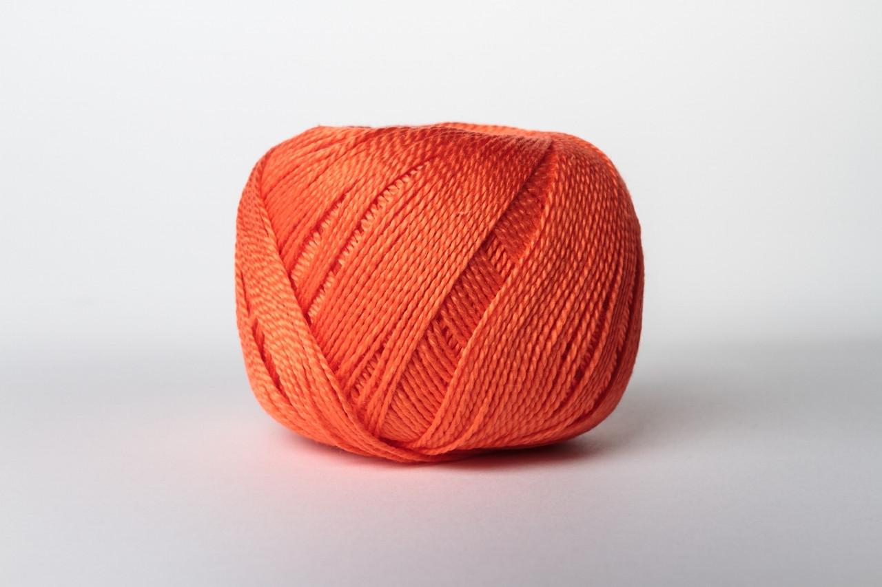 Пряжа бавовняна Vita Cotton IRIS, Color No.2122 темно-оранжевий
