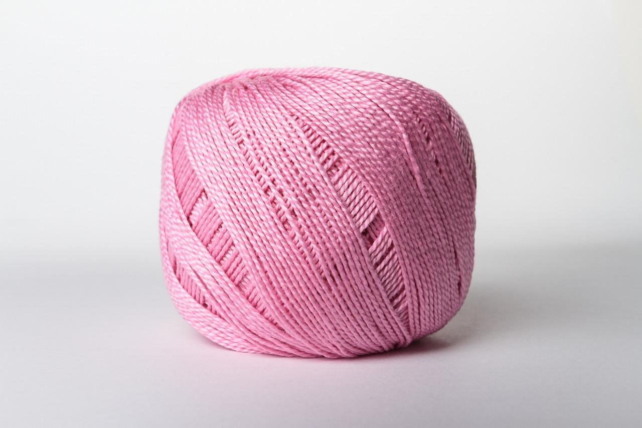 Пряжа бавовняна Vita Cotton IRIS, Color No.2128 рожево-фіолетовий
