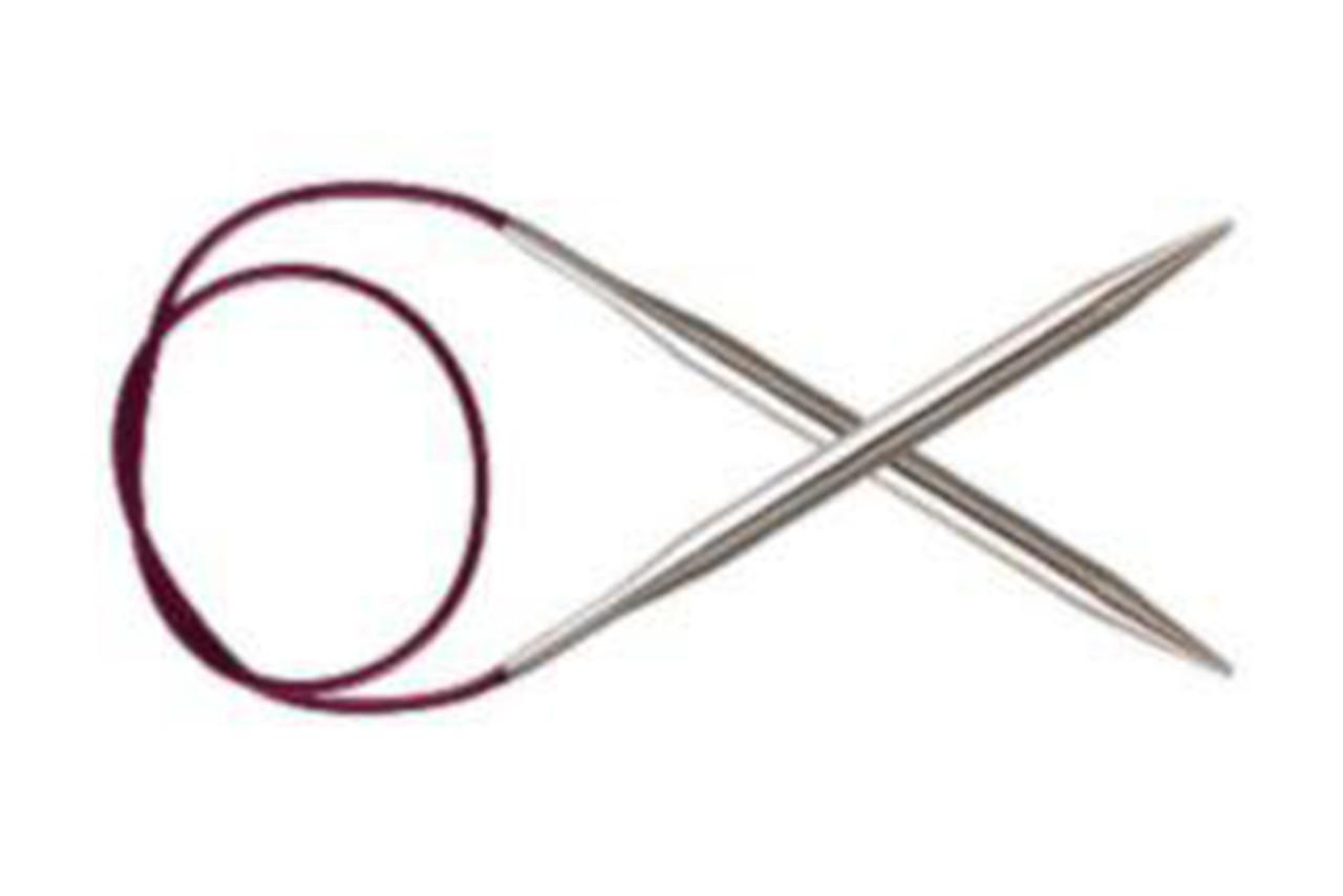KnitPro Nova Metal спицы круговые, 2.00 мм, 80 см (10321)