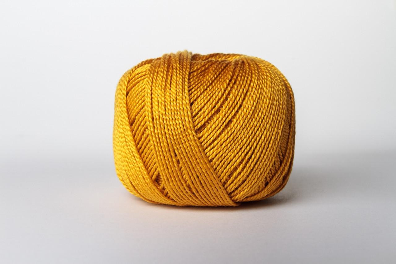 Пряжа Vita Cotton IRIS 2133 горчичный