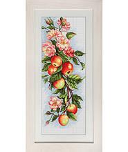 """Luca-S набор для вышивания крестом """"Композиция с яблоками"""" b211"""