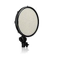 50W Ø22,4x4,6см Постоянный светодиодный свет - круглая панель TOLIFO PT-800S 800 LEDs светодиодов, фото 3