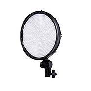 50W Ø22,4x4,6см Постоянный светодиодный свет - круглая панель TOLIFO PT-800S 800 LEDs светодиодов, фото 8