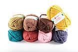 Пряжа Woolbar Merino Inverno 0211 пыльный красный (сангиновый), фото 4