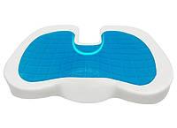 Ортопедическая подушка на сидение с гелем до 80 кг, фото 2