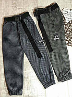 Подростковые штаны из шерсти на рост 128-152