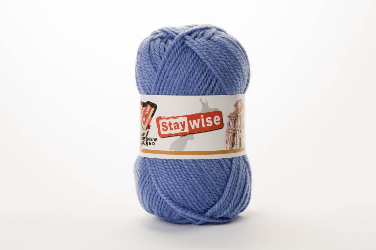 Пряжа Stay Wise Stay Wise 396 насыщенный голубой более светлый