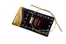 Addi 755-7/50-2.00 Спицы круговые с удлиненным кончиком позолоченные, 50 см, 2.00 мм
