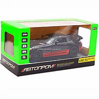 Машинка игровая автопром «Mercedes-AMG GT R», 14 см, свет, звук, двери открываются, черный (7846), фото 2