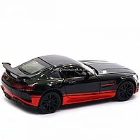 Машинка игровая автопром «Mercedes-AMG GT R», 14 см, свет, звук, двери открываются, черный (7846), фото 5