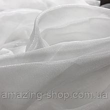 Готовий тюль з кристалона | Турецький тюль | Тюль на тасьмі | Білий тюль з кристалона | Якісна гардина
