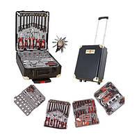 Набор инструментов Универсальный 356 предмета в Алюминиевом чемодане SWISS KRAFT BLACK EDITION (Original)