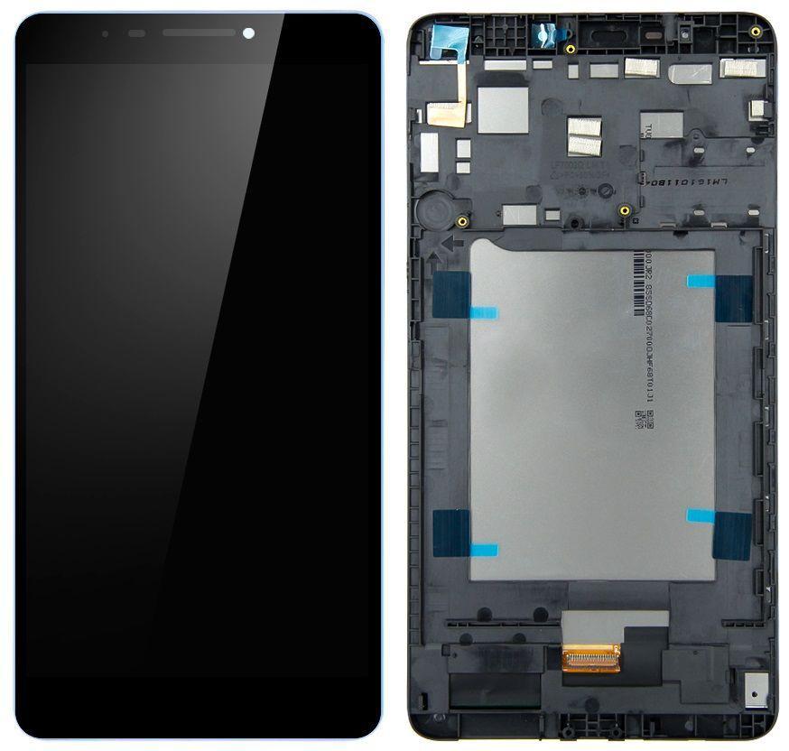 Дисплей для планшета Lenovo Phab PB1-750M + Touchscreen with frame Black