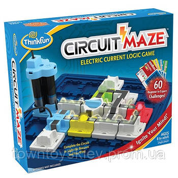 Игра-головоломка Circuit Maze (Электронный лабиринт) ThinkFun 1008-WLD