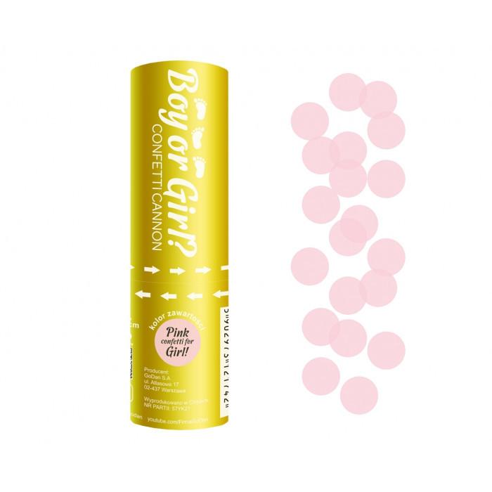 Хлопавка Boy or Girl 15см рожевий