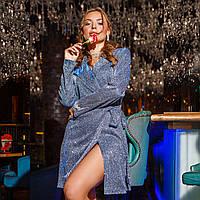 """Платье-пиджак люрексовое короткое коктейльное """"SHARM"""", фото 1"""