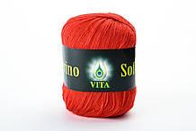 Пряжа мериносовая Vita Merino Soft, Color No.3317 красный