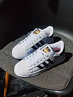 Кроссовки Adidas Superstar White Суперстар Белые, фото 1