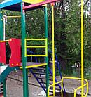 """Игровой детский комплекс для улицы """"Гамми"""" с качелями и горкой, фото 4"""