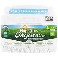Nurture Inc. (Happy Baby), Organics Happy Baby, формула для грудных детей, этап 2, 6-12 месяцев, 21 унция (595