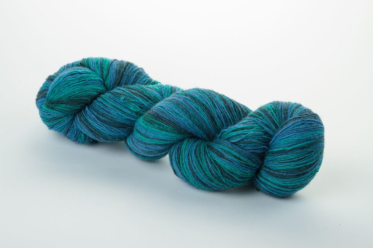 Пряжа Aade Long Kauni, Artistic yarn 8/1 Aqua (Вода), 134 г