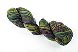 Пряжа Aade Long Kauni, Artistic yarn 8/1 Blue II (Синий 2), 156 г, фото 6