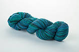 Пряжа Aade Long Kauni, Artistic yarn 8/1 Blue II (Синий 2), 156 г, фото 8