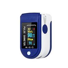 Пульсоксиметр Fingertip Pulse Oximeter  Пульсометр на палець  Оксиметром  Прилад для вимірювання кисню в крові