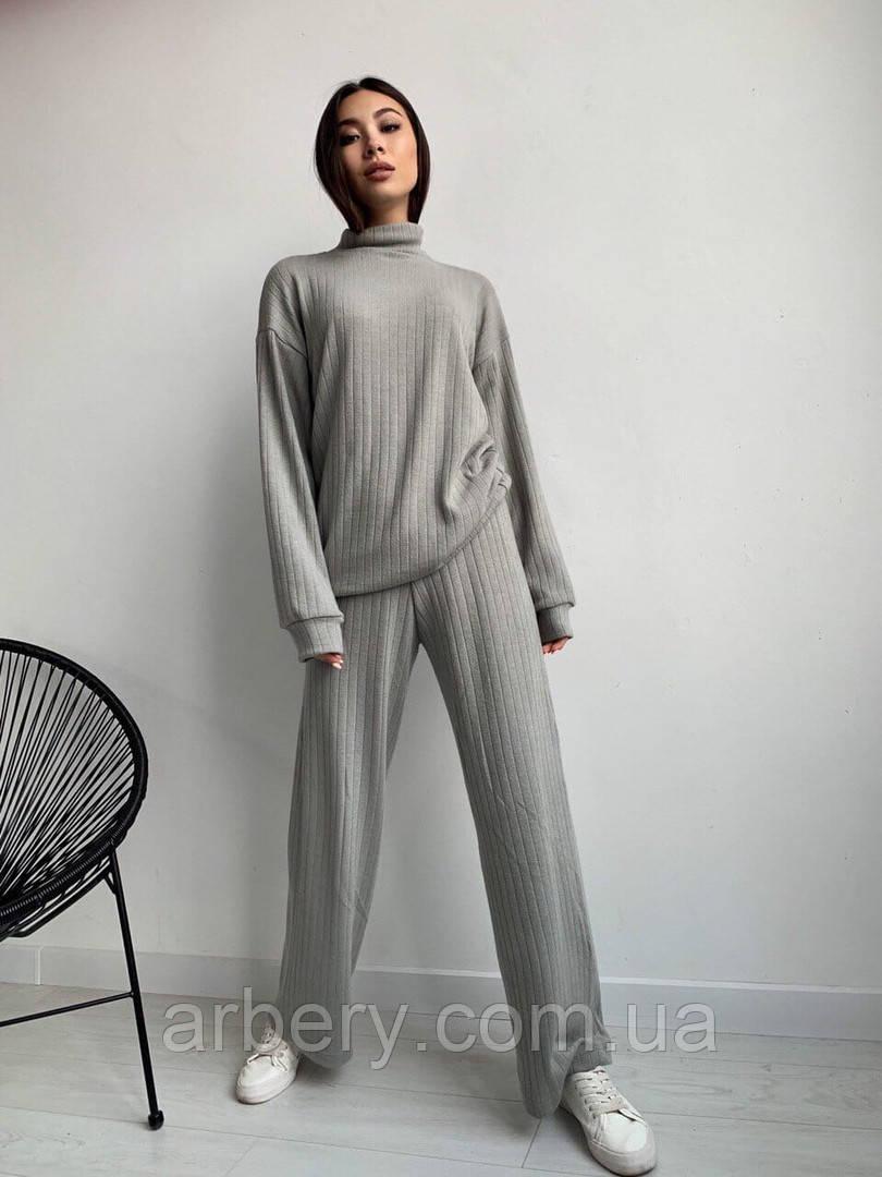 Женский прогулочный ангоровый костюм