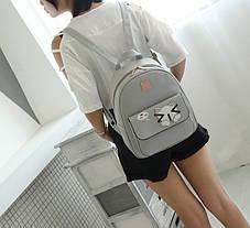 Городской рюкзак с аниме котиком, фото 3