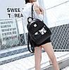 Городской рюкзак с аниме котиком, фото 5