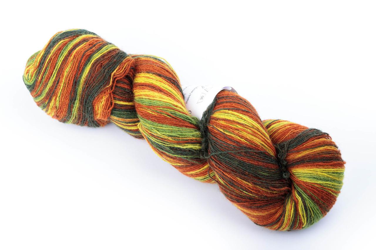 Пряжа Aade Long Kauni, Artistic yarn 8/1 Fall (Осень), 148 г