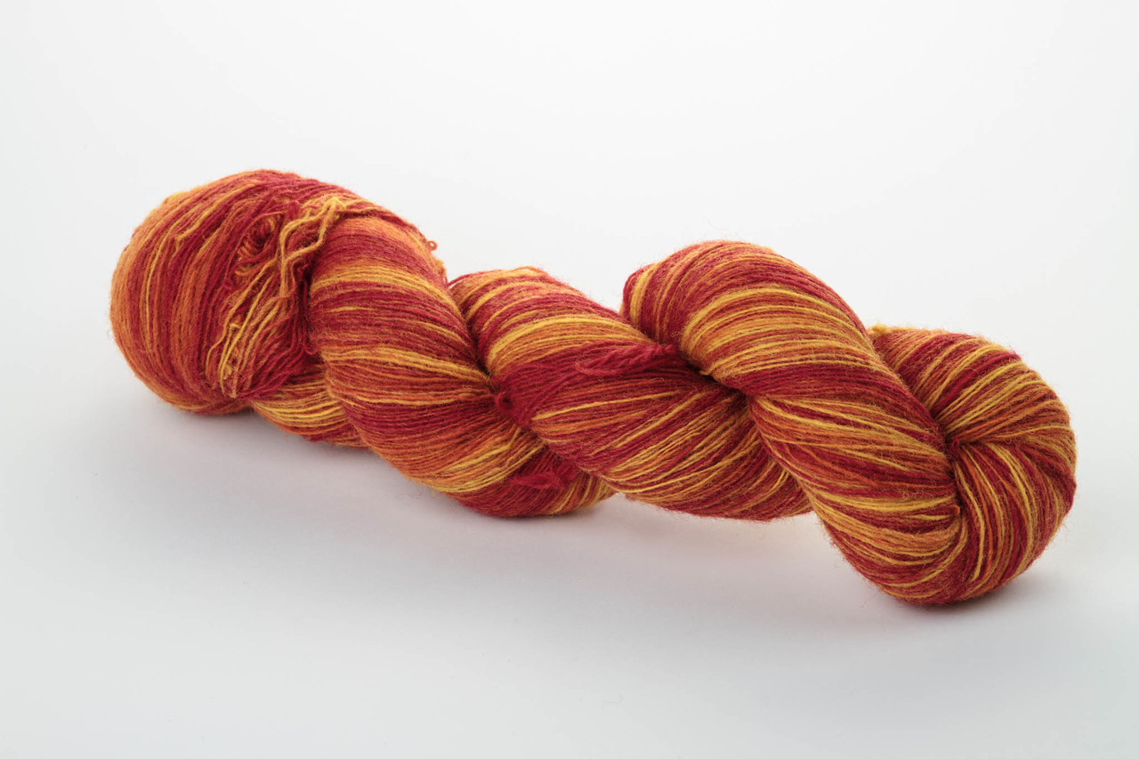 Пряжа Aade Long Kauni, Artistic yarn 8/1 Flame (Огонь), 162 г
