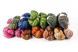 Пряжа Aade Long Kauni, Artistic yarn 8/1 Grey-Red (Серо-Красный), 156 г, фото 5