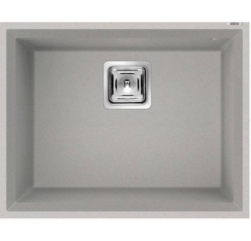 Кухонная мойка ELLECI Karisma 105 on top aluminium 79, фото 2
