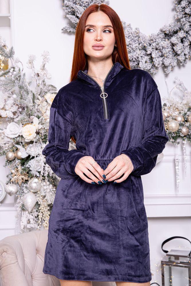 Платье женское 112R466 цвет Фиолетовый