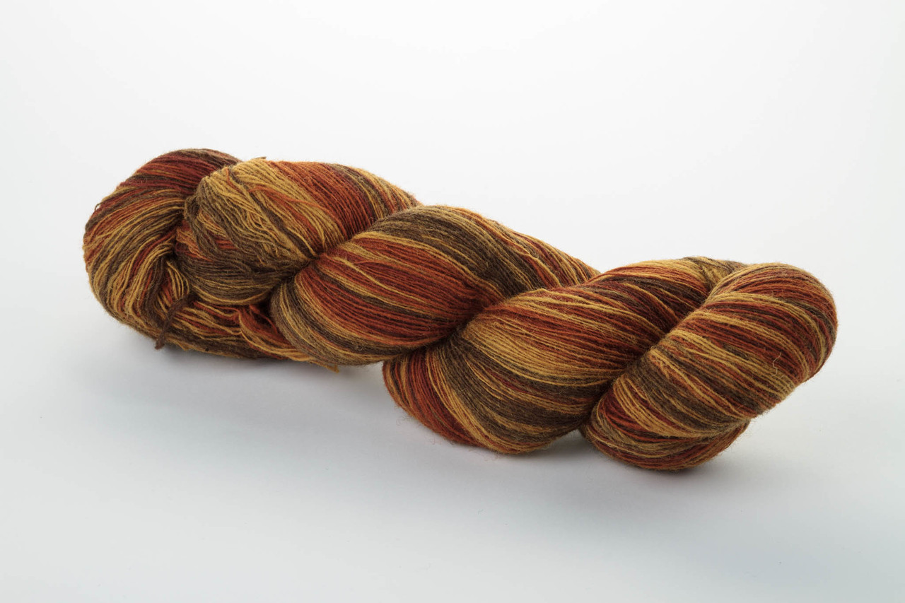 Пряжа Aade Long Kauni, Artistic yarn 8/1 Rusty (Ржавый), 110 г