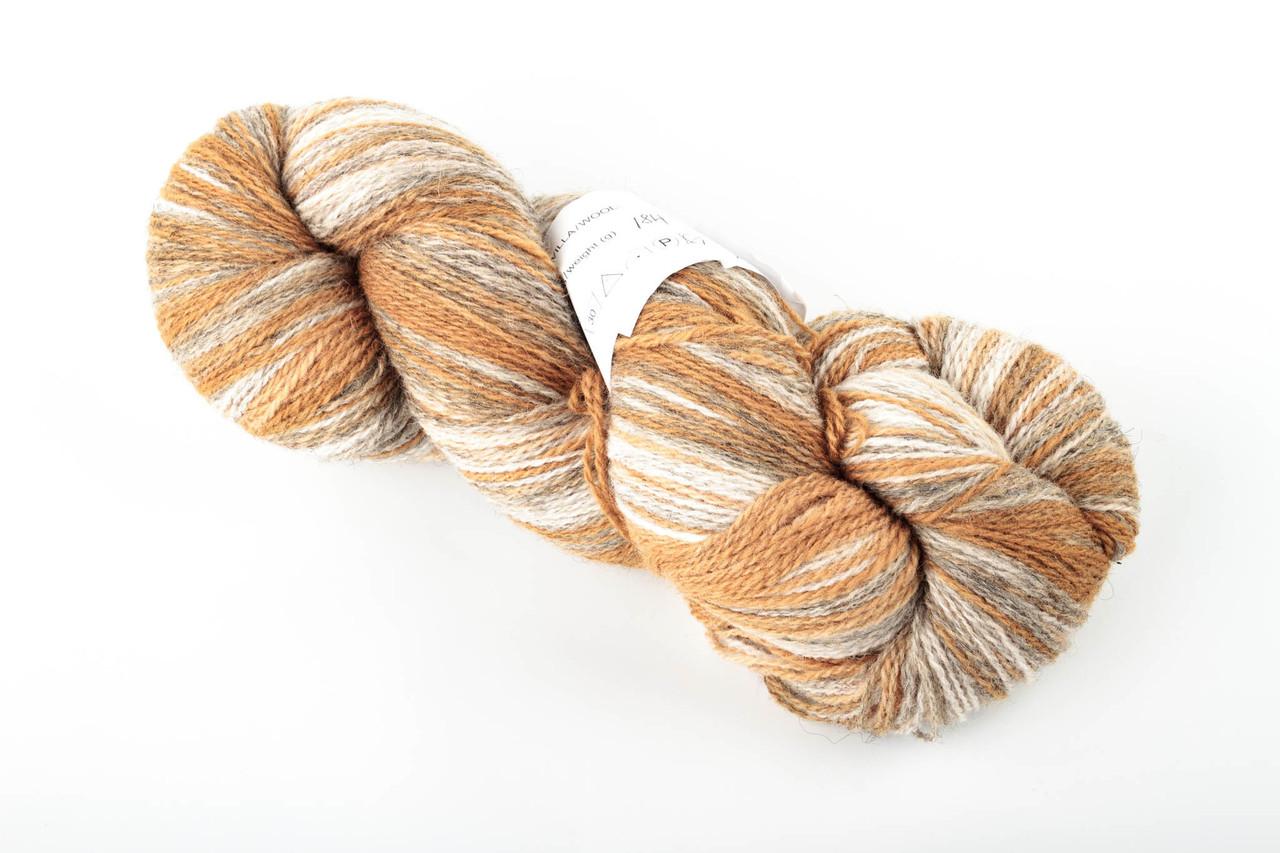 Пряжа Aade Long Kauni, Artistic yarn 8/1 Sand (Песок), 110 г