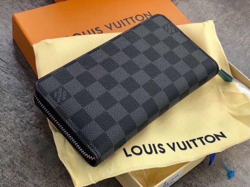 Мужской серый Клатч Louis Vuitton (реплика)