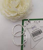 Серьги кольца арт.85002