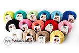 Пряжа Alize Baby Wool 194 розовый, фото 3