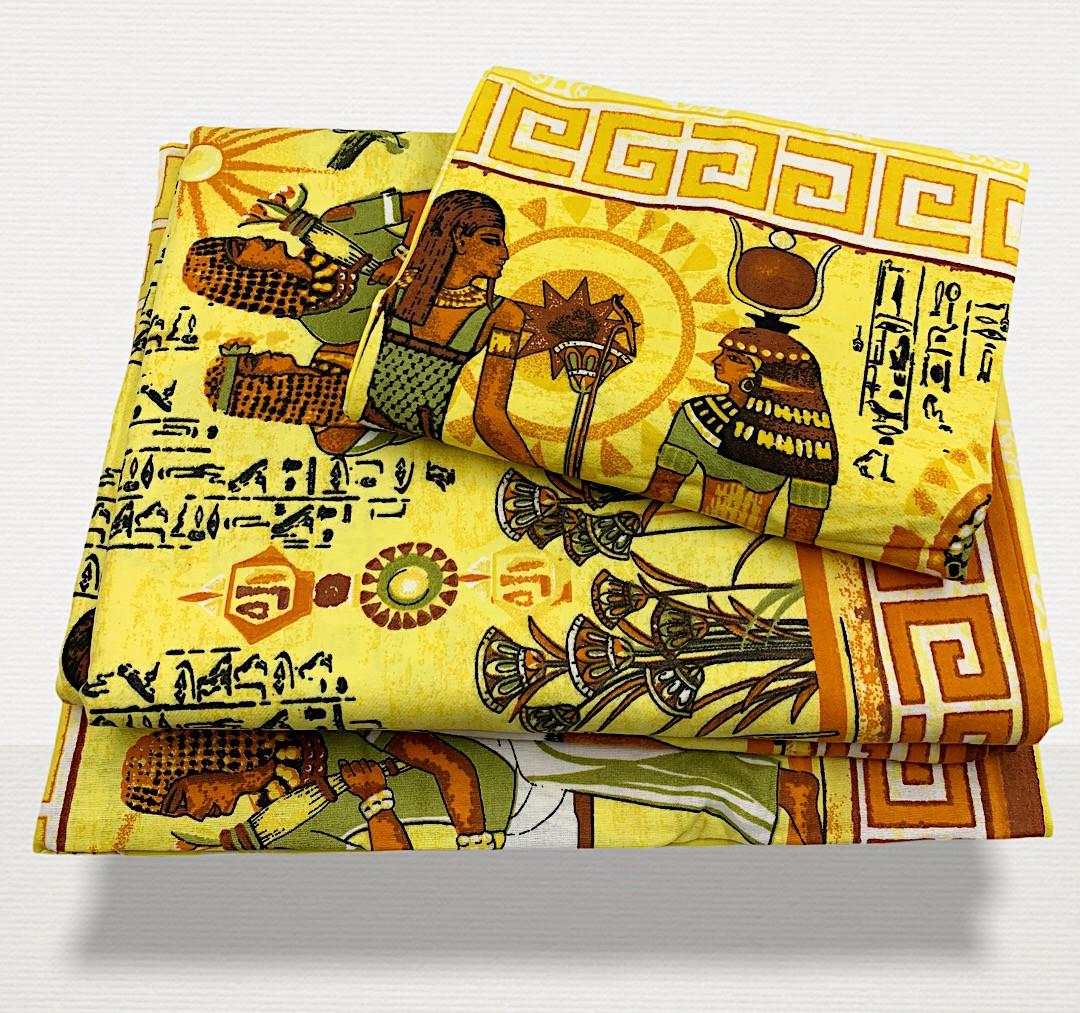 "Фланелевый комплект  Комби в кроватку  ""Фараон"""