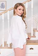Блуза женская Arizzo  AZ-112  (белый) S (99015055-2XL), фото 2