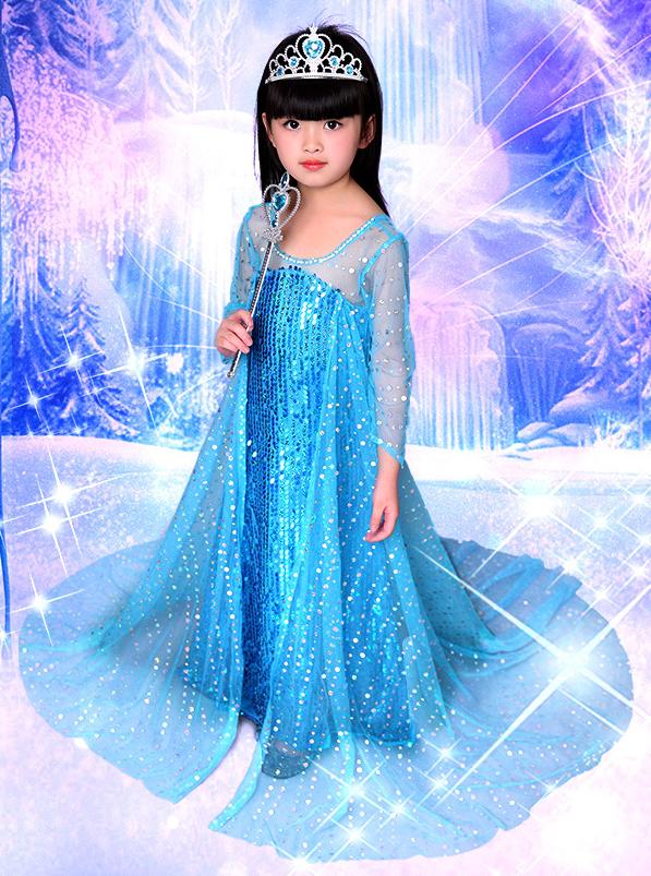 Святковий комплект принцеса Ельза Холодне серце - Elsa, Princess, Frozen, Disney